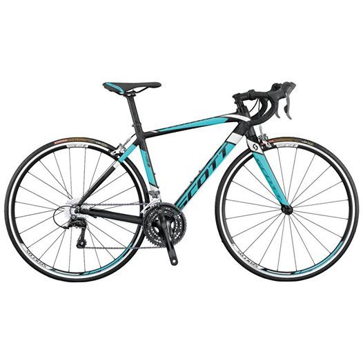 Scott Contessa Speedster 45 - 2015 Road Bike The Speedster 45 boasts F01 racing characteristics at a fraction of the cost. https://www.facebook.com/pages/The-Cycle-Showroom-at-FitEquipmentcouk/255849747811096