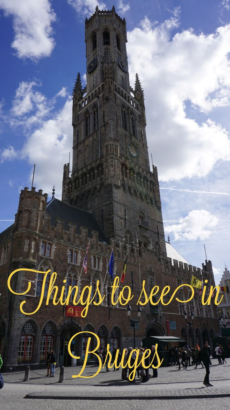 Belfry of Bruges, see what else there is to see when in Bruges.
