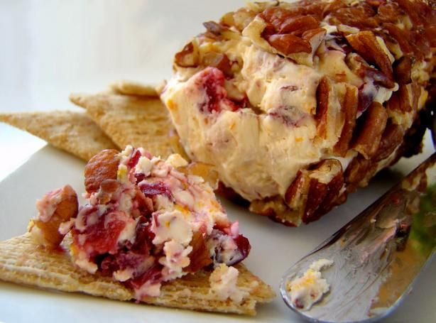 Cranberry and Pecan Cheese Log | Recipe | Cream cheeses, Cooking and ...