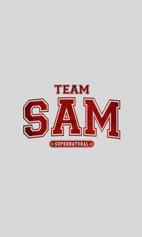 I will forever be #teamsam