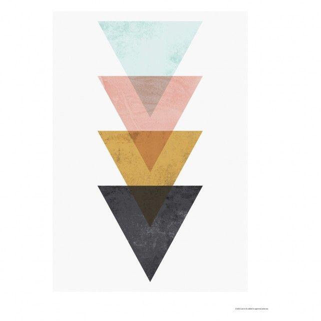 MINIMALIST 40 x 50cm print by Wallzilla | Buy now at Habitat UK