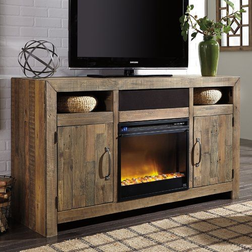 Found it at Wayfair - Hemet LG TV Stand with Electric Fireplace