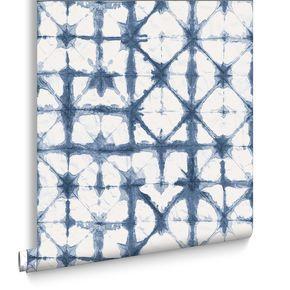 Indigo Blue Wallpaper, , large