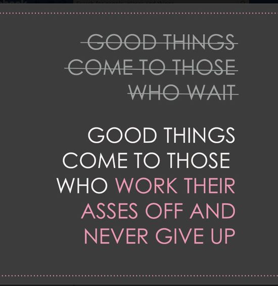 Good things come to those who work their asses off and never give up #weightloss #motivation