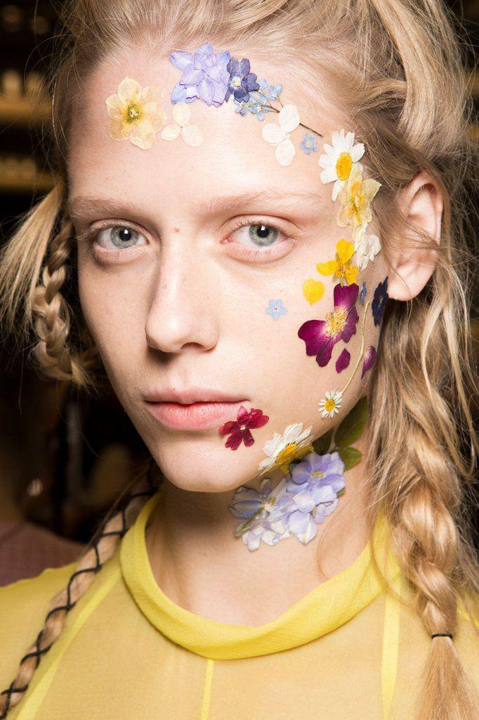 Hair and Makeup Spring/Summer 2016 | London Fashion Week | POPSUGAR Beauty