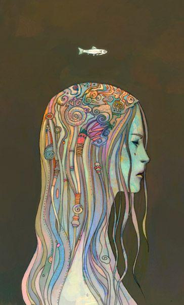 I'm really in love with this artist!  Ken Wong : Artist, Illustrator, Designer