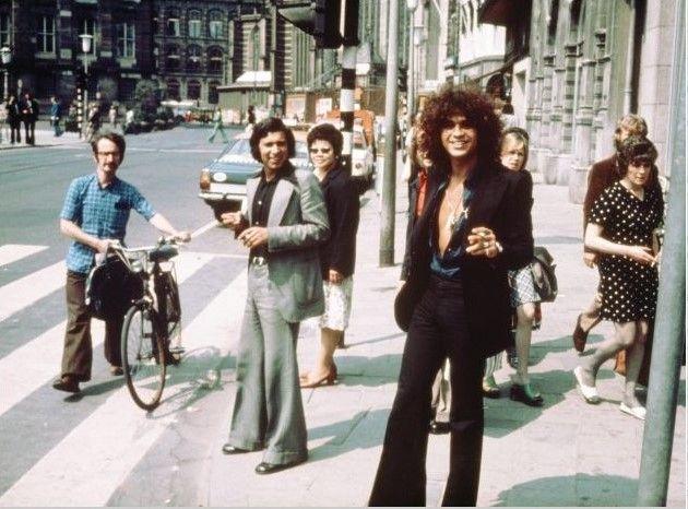 Streetlife Amsterdam 1975, Ed van der Elsken Color Photography