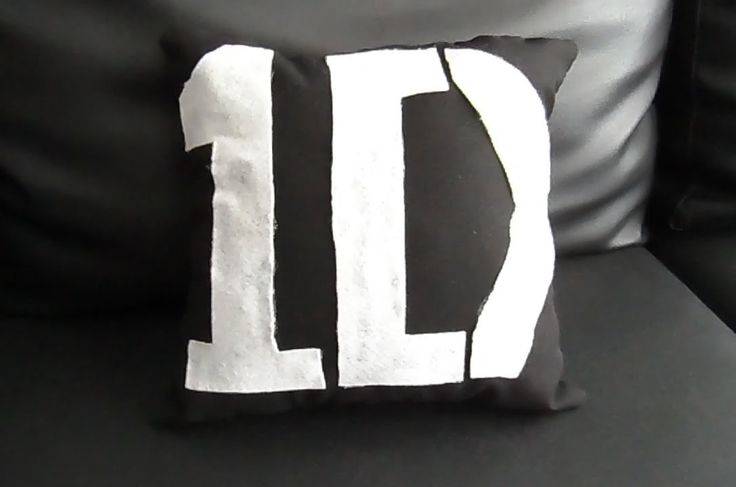 DIY-cojin de one direction
