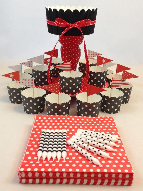 Red & Black Spot Mini Kit. Click here http://www.icingonthecakekits.com/item_47/Pink-Heart-Mini-Kit.htm $24.95