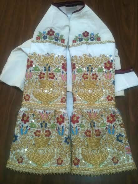 REPRODUCTION OF THE LOCAL TRADITIONAL COSTUMES MADE FROM THE EMBROIDERY GROUP OF OUR ASSOCIATION. all rights reserved