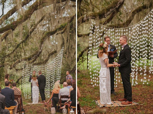 Vintage Inspired Florida Ranch Wedding: Jenny + Jeff