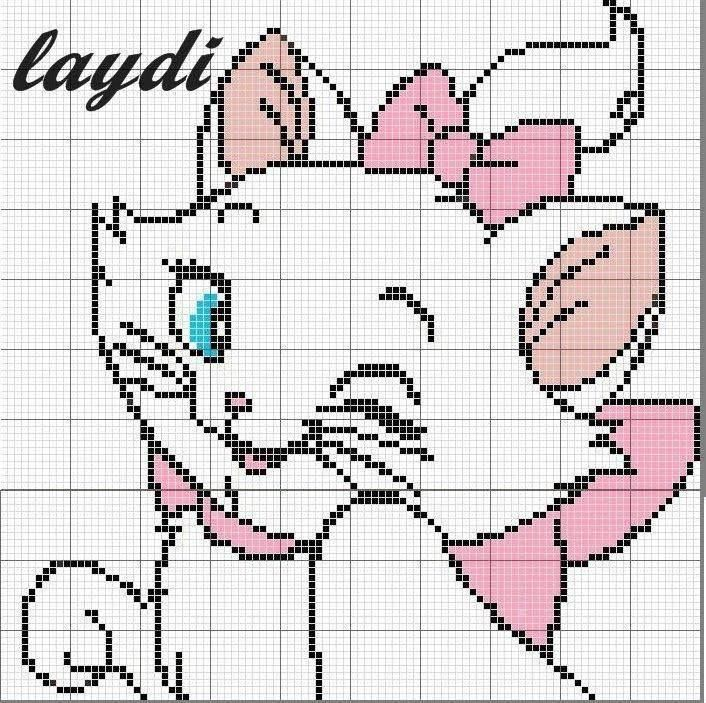 Marie Aristocats x-stitch