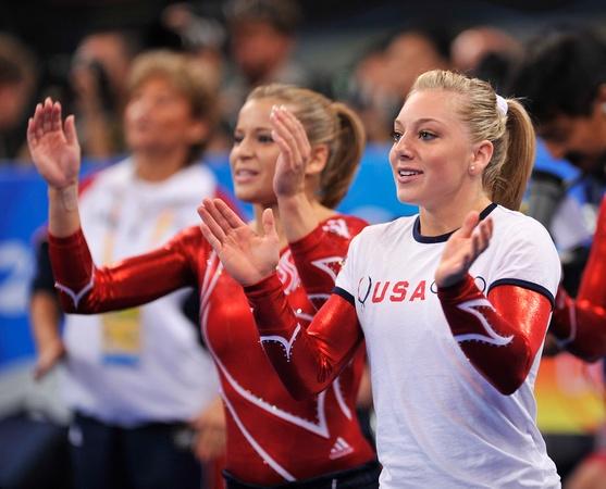 Olympic Games 2008: Sam Peszek && Alicia Sacramone