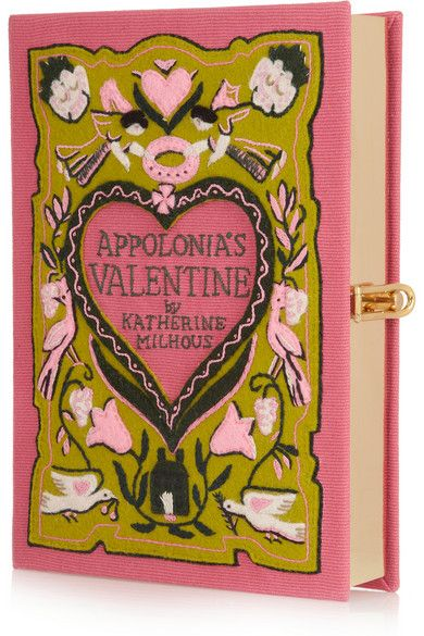 Olympia Le-Tan Appolonia's Valentine embroidered clutch. Beautiful. Xo Ella