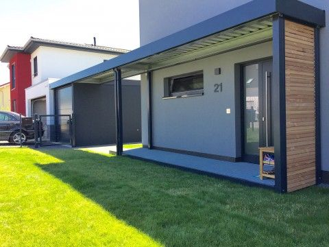 Garage mit carport modern  19 best Carport images on Pinterest | Carport designs, Parking lot ...