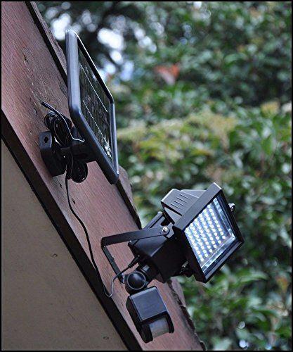 From 25.19:Bright White 60 Led Pir Motion Sensor Solar Panel Security Floodlight Lamp Garden Outdoor Light - Night Light For Gardens And Outdoors | Shopods.com