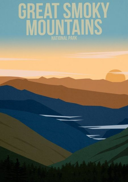 Great Smoky Mountains National Park, North Carolina - Vereinigte Staaten von Amerika / United States of America / USA