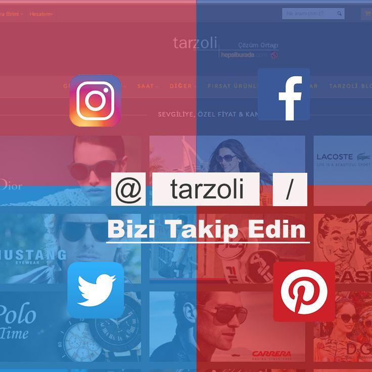 """Modanın nabzı Tarzoli'de atıyor! Avantajlardan yararlanmak için """"Bizi Takip Edin""""💫🎉 ➡️http://www.tarzoli.com/⬅️ #tarzoli #sun #gözlük #saat #gucci #osse #love #instagood #follow #instalike #like4like #likes #watch #casio #kenzo #levis #vanni #sondakika"""