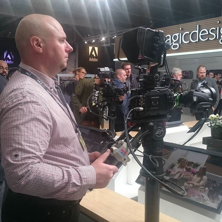 booth of Blackmagic at IBC-2017 #ibc2017