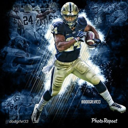 James Conner was a beast this year. He made every #Pitt game must see tv. #H2P