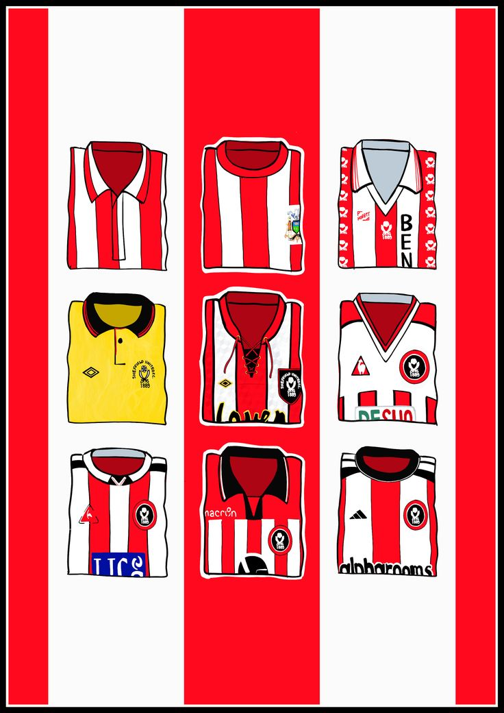 hallyink — Sheffield United Shirts