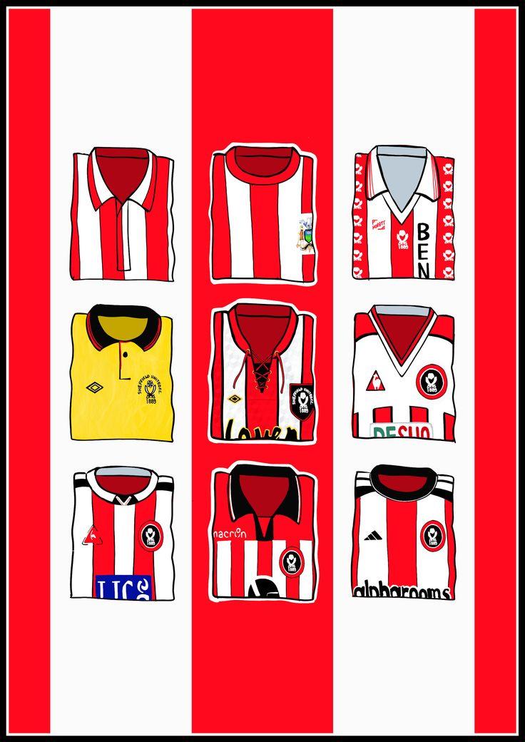 hallyink — Sheffield United Shirts