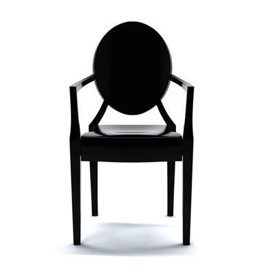 cadeira louis ghost philippe starck kartell casas. Black Bedroom Furniture Sets. Home Design Ideas