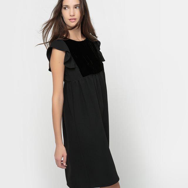 Kleid, Samtdetails MADEMOISELLE R