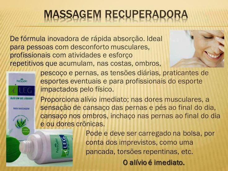 Que tal aquela massagem? Adquira o produto no site:  www.hinodeonline.net/334241
