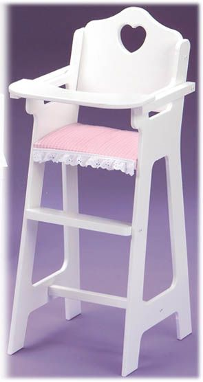 Superbe Feeding Your Baby Doll Is More Fun With This Special High Chair! The Plate,  Bib, And Spoon Included With This Model Offer Extra Play Value! High Chair T