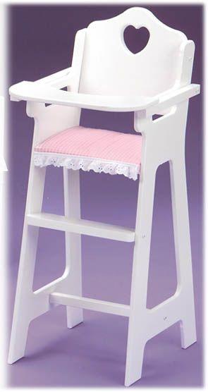Doll Furniture - High Chair