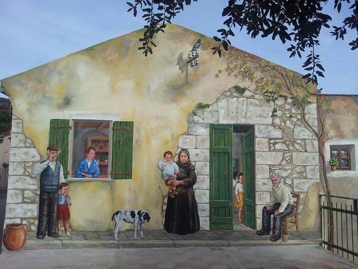 Murales,  Comune Di Cargeghe, Sardegna, 2015