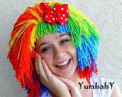 Résultats de recherche d'images pour «clown wig diy»