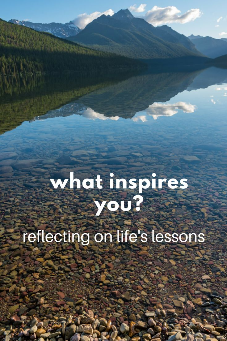 what inspires you the journey to be used up - What Inspires You What Influenced You The Most