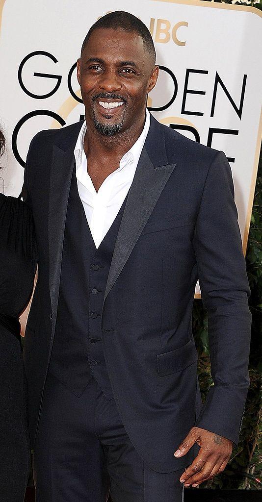 idris goldnen globes   Idris Elba at the Golden Globes 2014