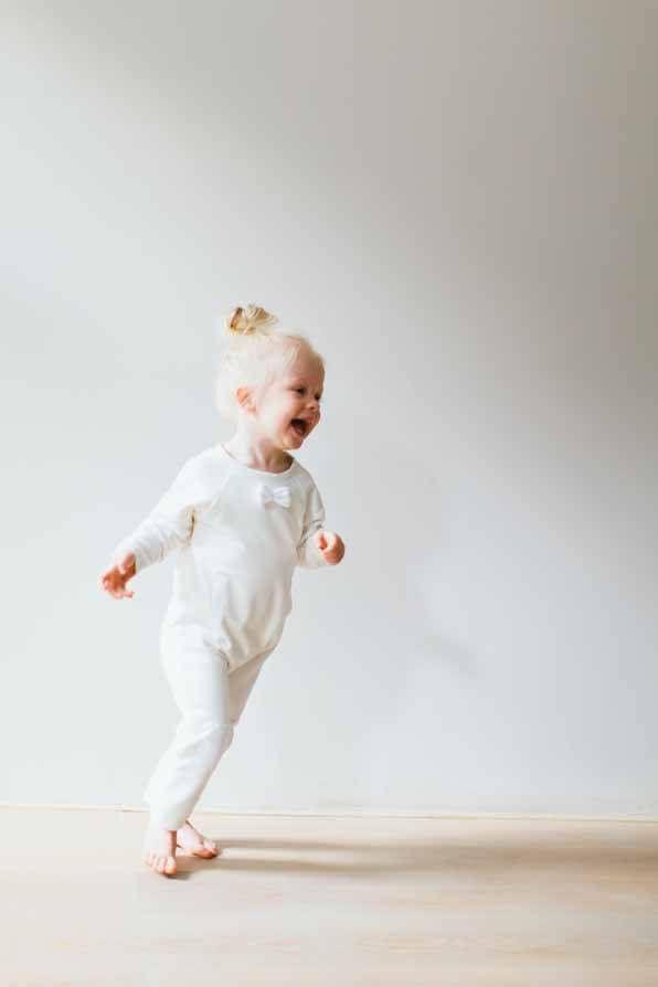 Bow Tie Jumpsuit #kids #jumpsuit #white #clothes #kids #fashion #mode