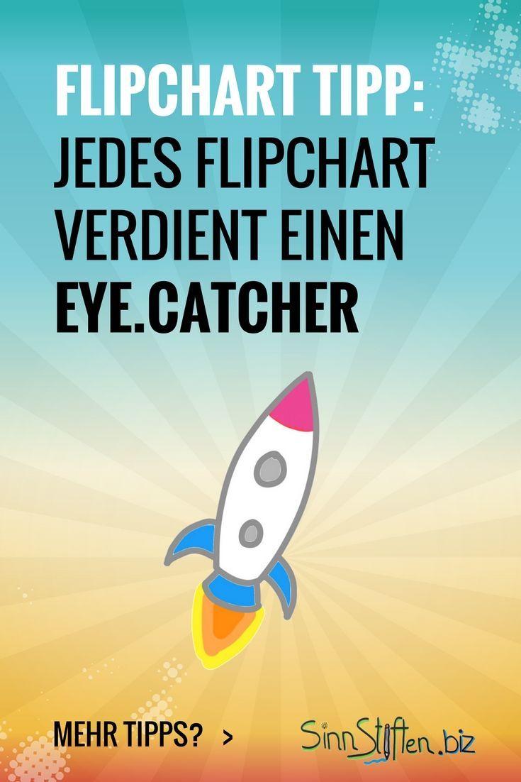 Ein Eyecatcher zieht den Blick deines Publikums an. Das kann eine Überschrift oder auch ein passendes Symbol sein. Hauptsache es unterstützt die Kernbotschaft.