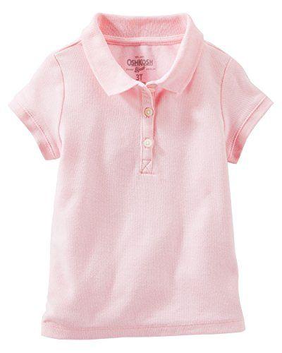 3eb93da1 Girls Short Sleeve Pique Polo Shirt | women's fashion night out ...