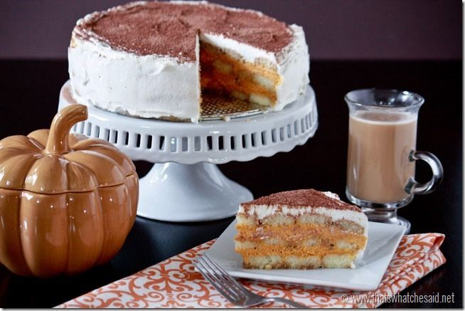 Pumpkin Spice Tiramisu Recipe