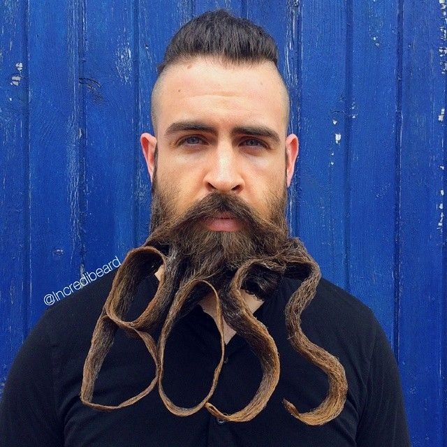 Best PHOTO Ways To Show Youre A Man Images On Pinterest - Mr incredibeard really coolest beard ever seen