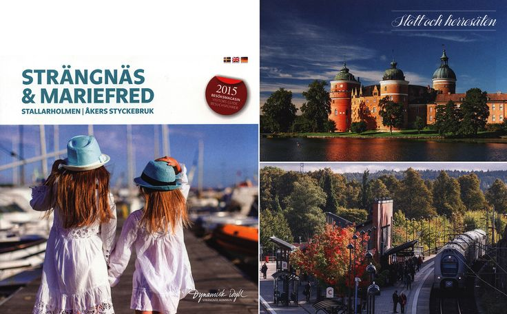 https://flic.kr/p/JK91qc | Strängnäs & Mariefred, Stallarholmen, Åkers Styckerbruk;  Besöksmagasin/ Visitors Guide/ Besuchsführer 2015; Södermanland co., Sweden
