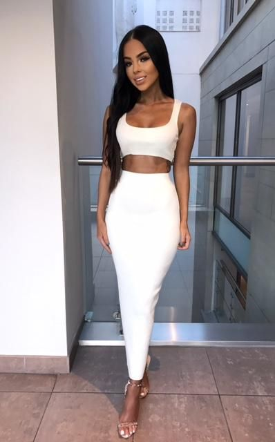 6bb28a1f05 Kimberley Ribbed Two Piece - Cream
