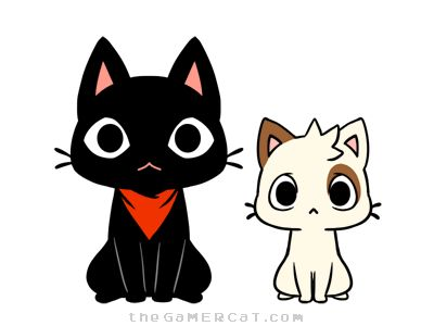 I know it's not Anime but you guys know about gamercat? Such a cutie and a beautiful online comic :3