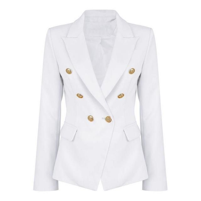 Runway Style Double Breasted Blazer