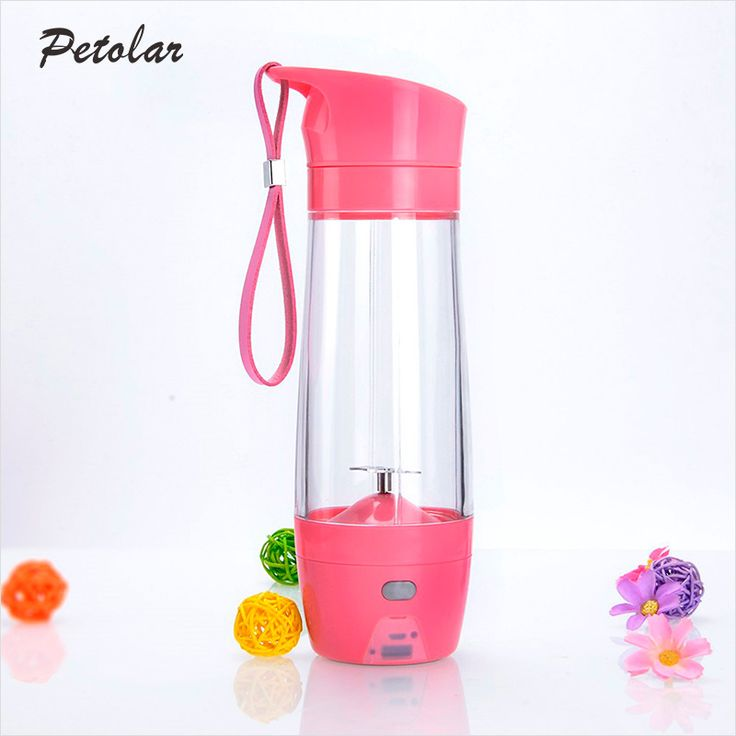 The Pink Electric Usb Juicer Portable Juice Maker has small in size, portable and multi-use, can use as common cup and juice blender,can mix kids of fruit and vegetables. The portable juicer is made of food grade tritan, and itsblade made of stainless steel 304.The USB powered supply is easily and quickly toextract juice that