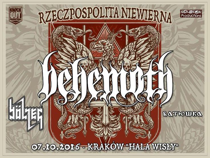 Relacja z koncertu #Behemoth w Krakowie -> http://heavy-metal-music-and-more.blogspot.com/2016/10/behemoth-zagra-koncert-w-krakowie.html