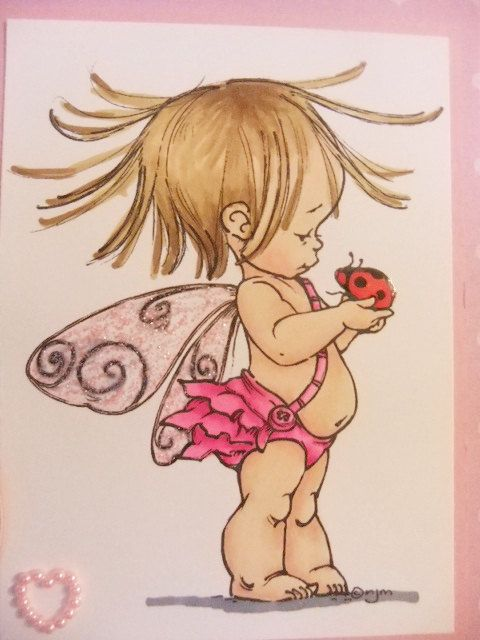 Baby's 1st 2nd 3rd etc Birthday Fairy by ItsUpToTheCraftGod, £4.50