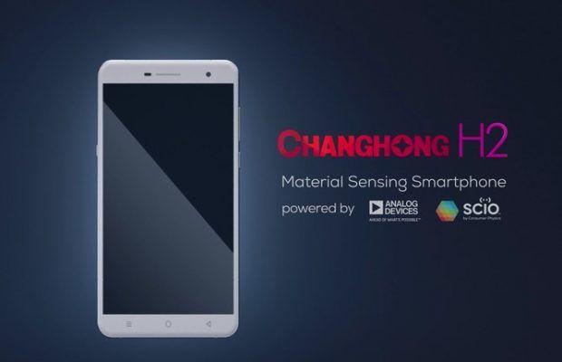 Changhong H2, smartphone-ul care 'simte' la nivel molecular