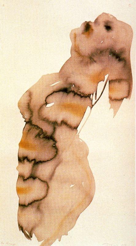 The shrimp 1998 Marlene Dumas. Art Experience:NYC http://www.artexperiencenyc.com/social_login