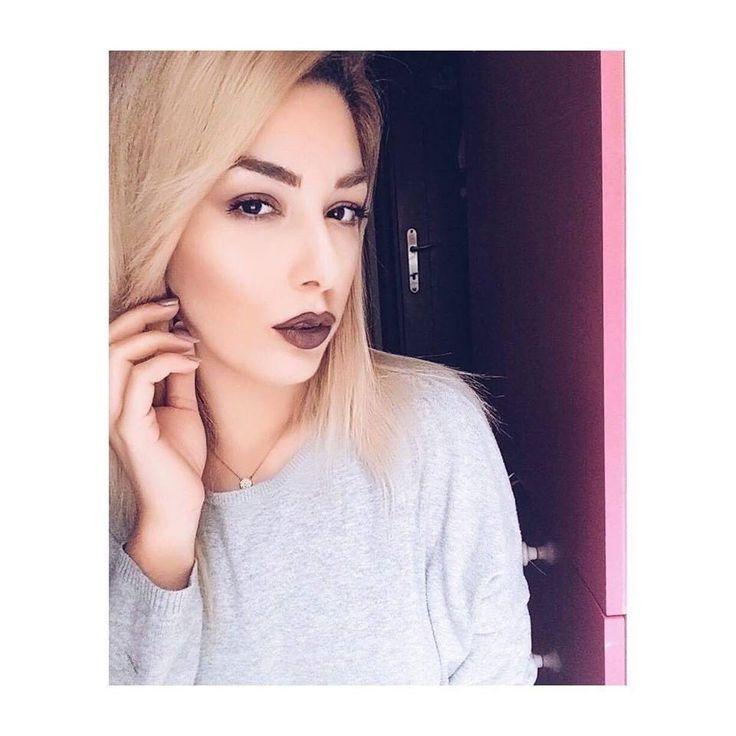 Dark purple lips #darklips #purple